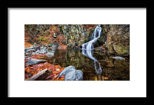 Framed Print featuring the photograph Autumn Refletions by Rachel Snydstrup