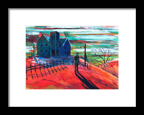 Autumn Framed Print featuring the painting Autumn by Rollin Kocsis