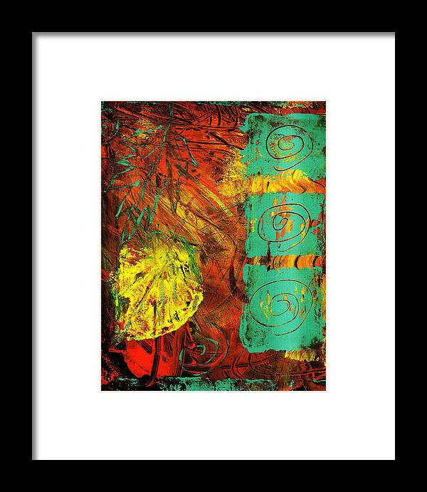 Autumn Framed Print featuring the painting Autumn by Wayne Potrafka