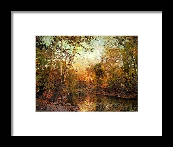 Autumn Framed Print featuring the photograph Autumnal Tones by Jessica Jenney