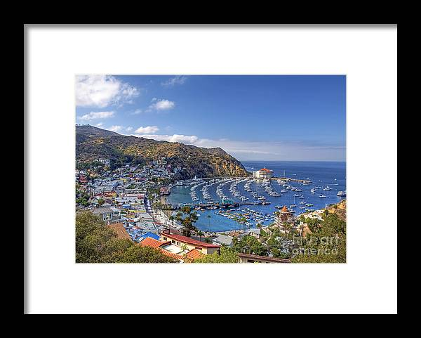 Avalon Framed Print featuring the photograph Avalon by Eddie Yerkish