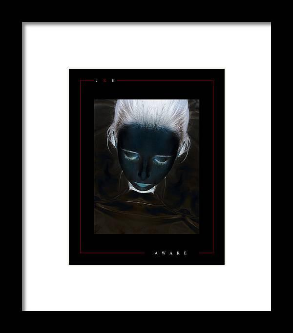 Girl Framed Print featuring the photograph Awake by Jonathan Ellis Keys