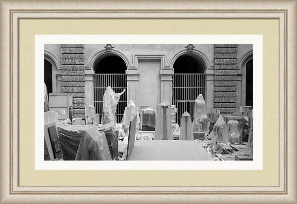 Grayscale Framed Print featuring the photograph Awakens 9 by M Urbanski