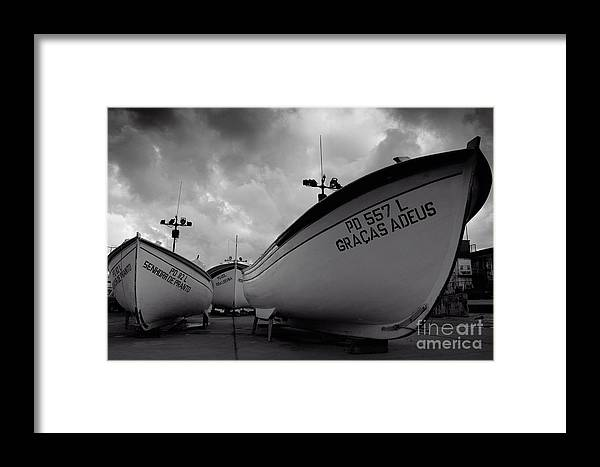 Azoren Framed Print featuring the photograph Azorean Fishing Boats by Gaspar Avila