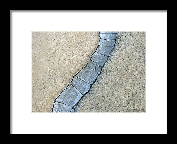 Romania Framed Print featuring the digital art Azzurro 1 by Alessandro Cini
