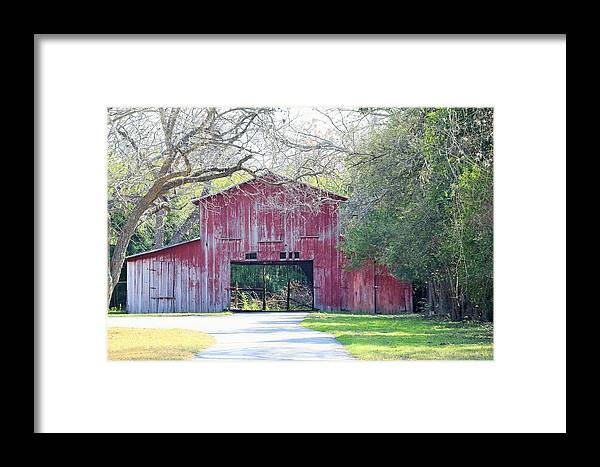 Barn Framed Print featuring the photograph b11 by Jeff Downs