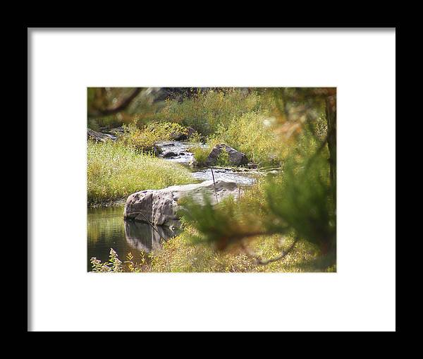 Framed Print featuring the photograph Babbeln Brook by Dennis Wilkins