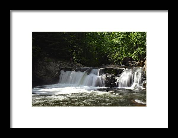 Baby Framed Print featuring the photograph Baby Falls by Pat Turner