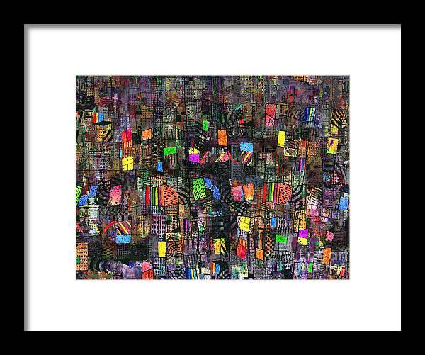Babylon Framed Print featuring the digital art Babylon by Andy Mercer