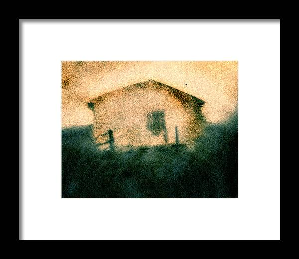 Building Framed Print featuring the photograph Back Of Ther Back by Diana Ludwig