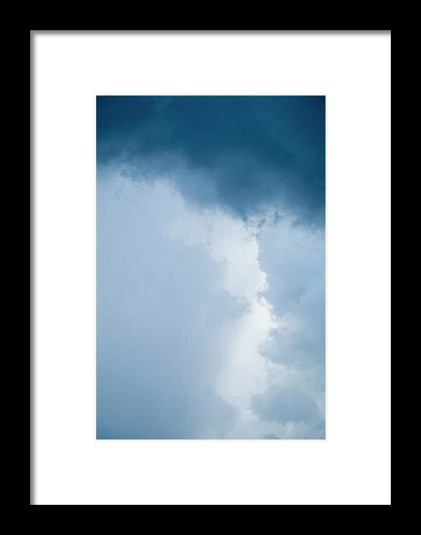 Caribbean Framed Print featuring the photograph Backdrop Of A Stormy Sky by Sami Sarkis