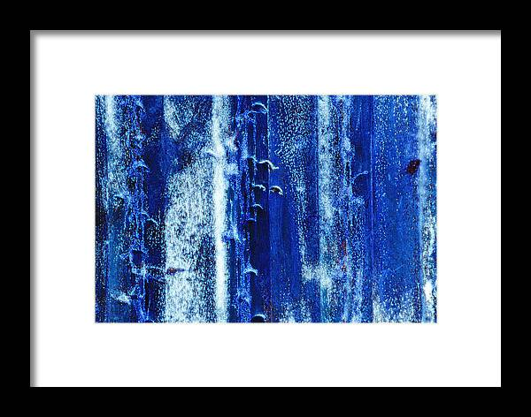 Color Framed Print featuring the photograph Bacteria by Carl Ellis