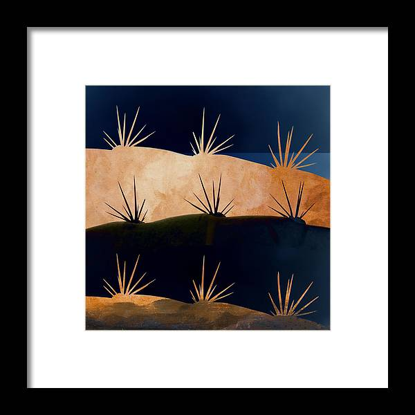 Baja Framed Print featuring the photograph Baja Landscape Number 1 Square by Carol Leigh