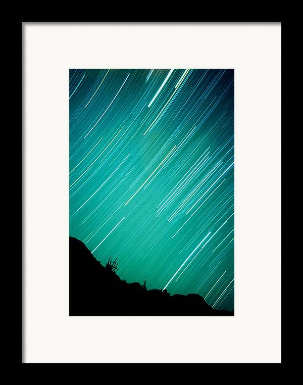 Photography Framed Print featuring the photograph Baja Starry Night by Benjamin Garvey