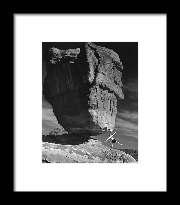 Nature Framed Print featuring the photograph Balance by Jim Furrer