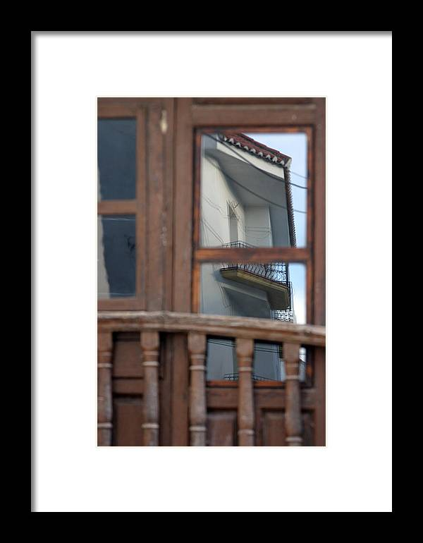 Photographer Framed Print featuring the photograph Balcony Wars by Jez C Self