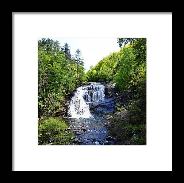 Bald River Framed Print featuring the photograph Bald River Falls Swimming Hole 2 by Paul Mashburn