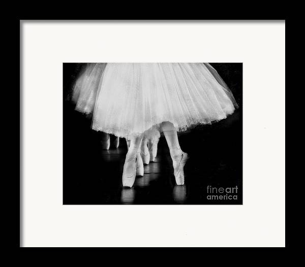 Ballet Framed Print featuring the photograph Ballet Black And White by Kevin Moore