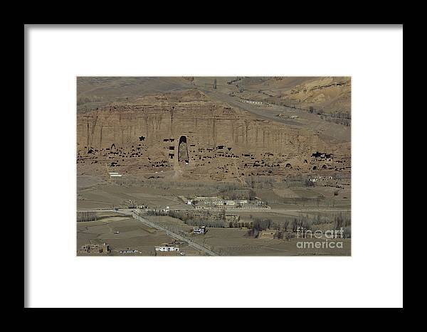 Bamiyan Framed Print featuring the photograph Bamiyan's Empty Alcoves by Tim Grams