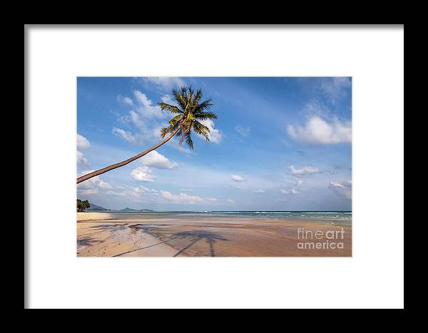 Thailand Framed Print featuring the photograph Ban Harn Beach by Adrian Evans