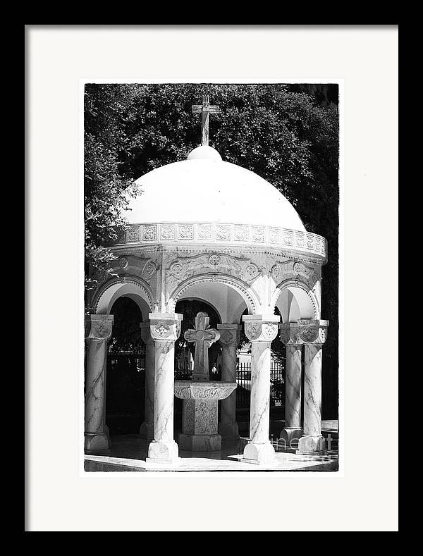 Baptism Framed Print featuring the photograph Baptism by John Rizzuto