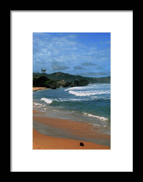 Beach Framed Print featuring the photograph Barbados Berach by Gary Wonning