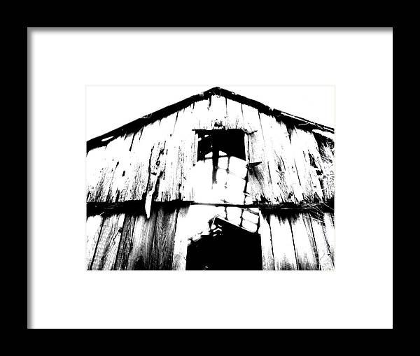 Barn Framed Print featuring the photograph Barn by Amanda Barcon