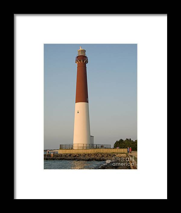 Lighthouse Framed Print featuring the photograph Barneget Lighthouse by Andrew Kazmierski