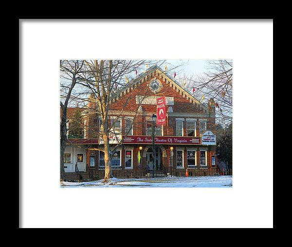Barter Theatre Framed Print featuring the photograph Barter Theatre by Karen Wiles