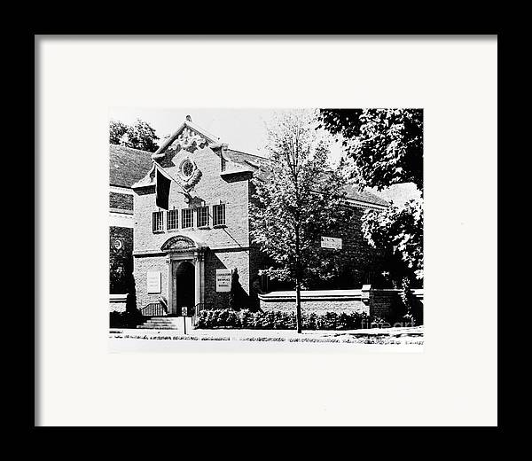1960 Framed Print featuring the photograph Baseball Hall Of Fame by Granger