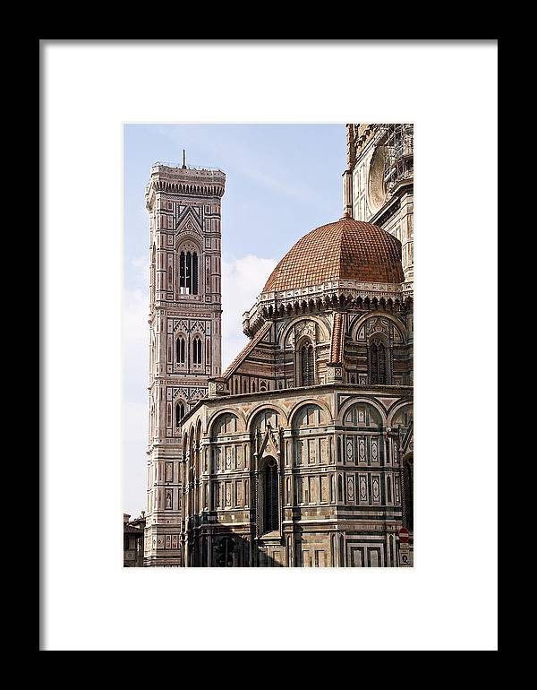 Cityscape Framed Print featuring the photograph Basilica Di Santa Maria Del Fiore by Carl Jackson