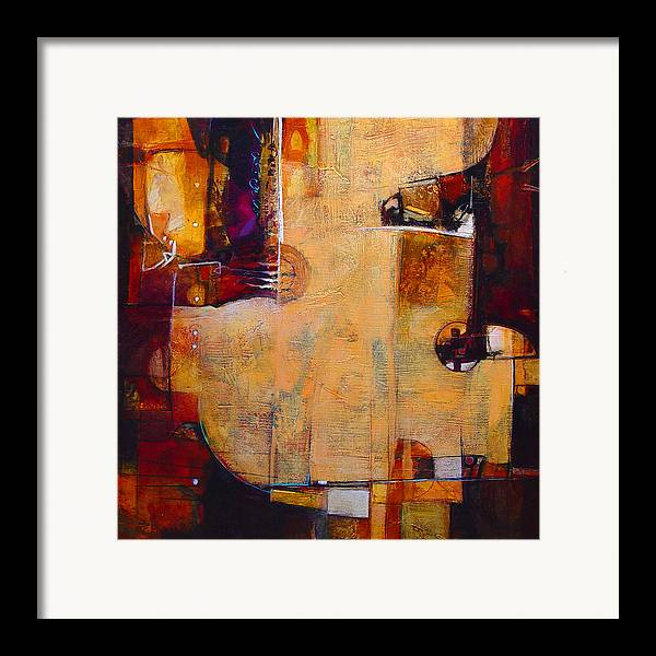Tans Framed Print featuring the painting Bathysphere by Dale Witherow