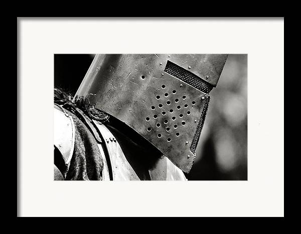 Knight Framed Print featuring the photograph Battle Ready by Scott Hovind