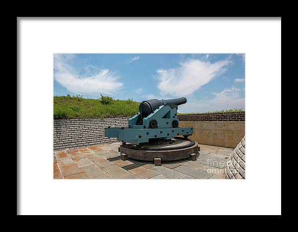 Fort Moultrie Framed Print featuring the photograph Battle Tested by Dale Powell