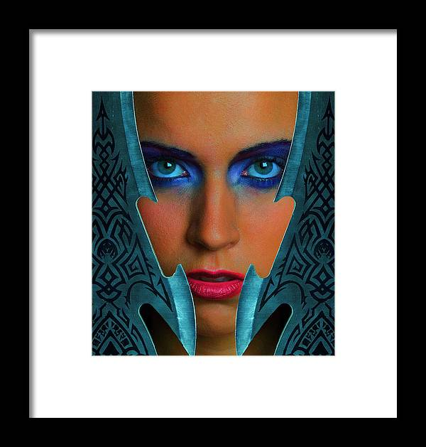 Girl Framed Print featuring the photograph Battlemaid by Dean Bertoncelj