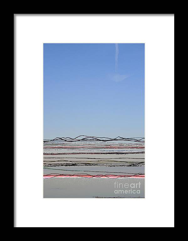 Bay Framed Print featuring the photograph Bay Lines by Andy Mercer