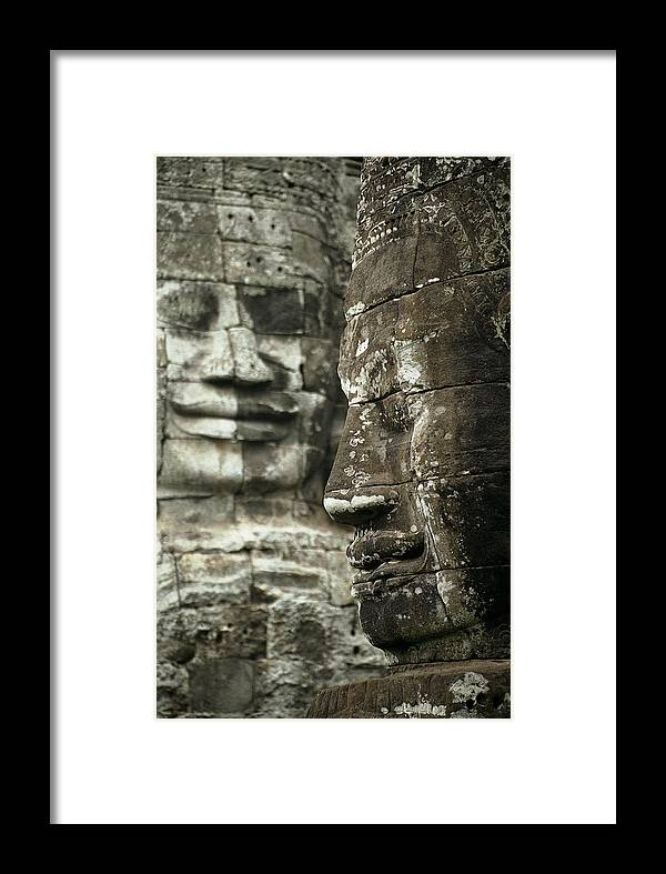Bayon Framed Print featuring the photograph Bayonii by Patrick Klauss