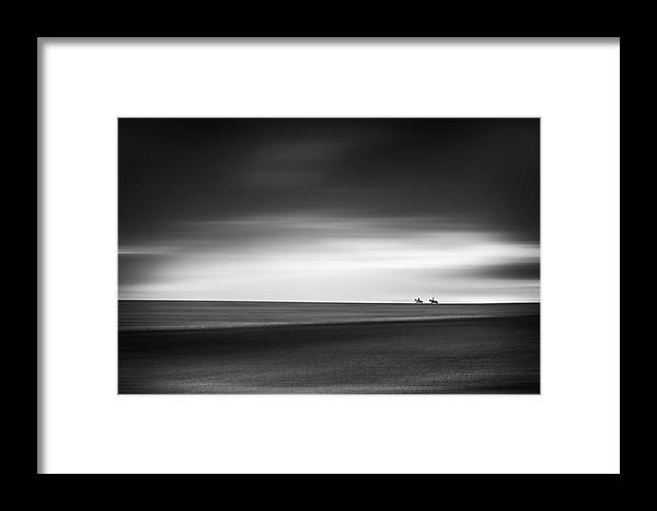 Horizon Framed Print featuring the photograph Be Free - Fine Art Photography by Frank Andree