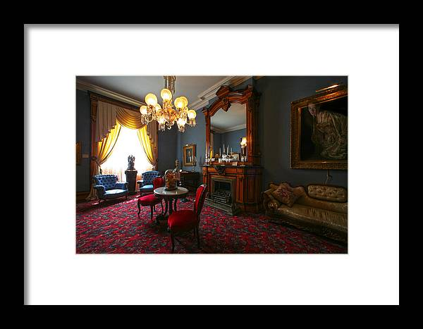 Ghost Framed Print featuring the photograph Be Gone Before Nightfall by Robert Och