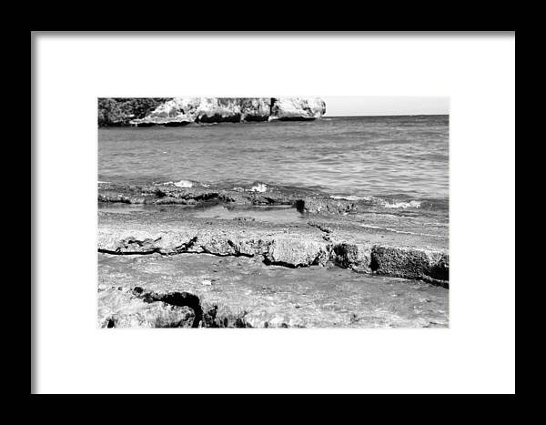 Beach Framed Print featuring the photograph Beach At Dominican Republic by Robert Smith