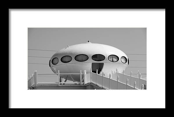 Beach Framed Print featuring the photograph Beach Dome Home by Toni Hopper