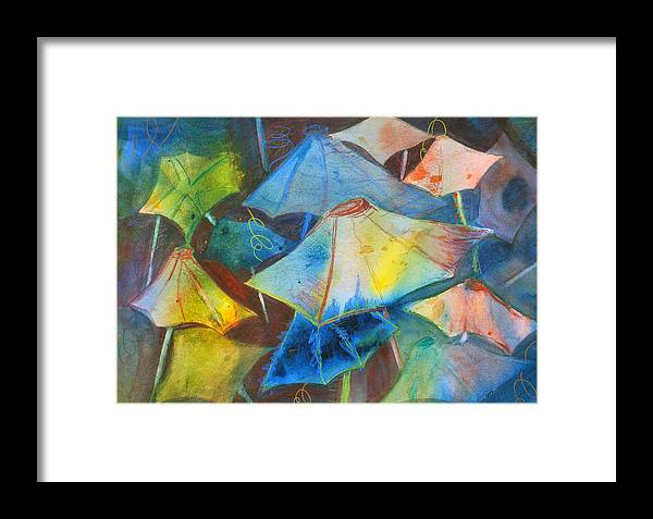 Beach Framed Print featuring the painting Beach Dreams II by Neva Rossi