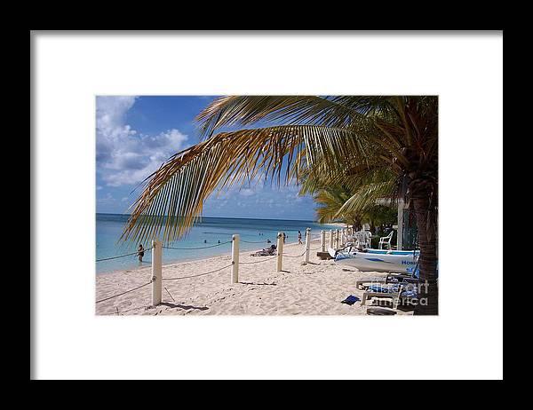 Beach Framed Print featuring the photograph Beach Grand Turk by Debbi Granruth