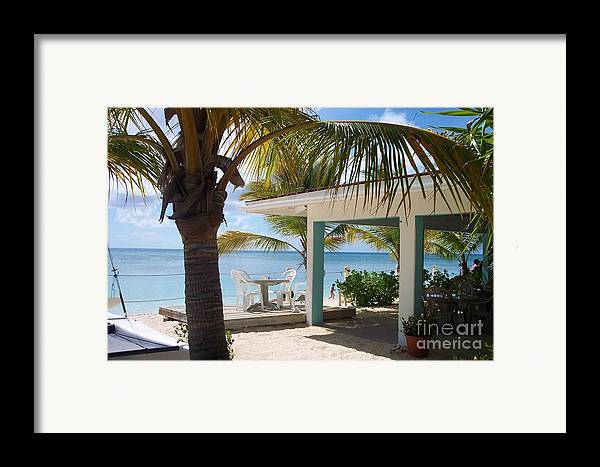 Beach Framed Print featuring the photograph Beach In Grand Turk by Debbi Granruth