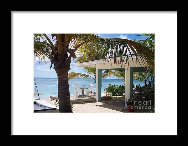 Beach Framed Print featuring the photograph Beach In Grand Turk by Debbi Granruth