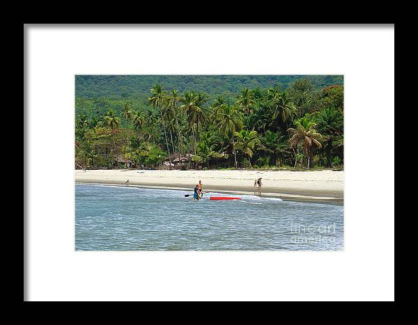 Sea Framed Print featuring the photograph Beach Pleasure by Hussein Kefel