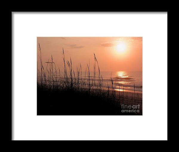 East Cost Framed Print featuring the photograph Beach Sun by Paul Boroznoff