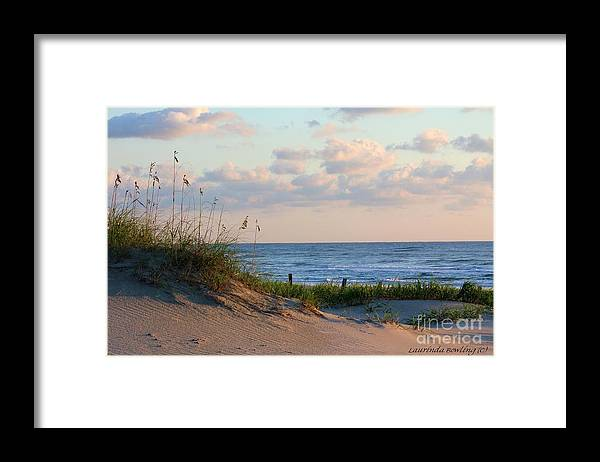 Beach Framed Print featuring the photograph Beaches Of Outer Banks Nc by Laurinda Bowling