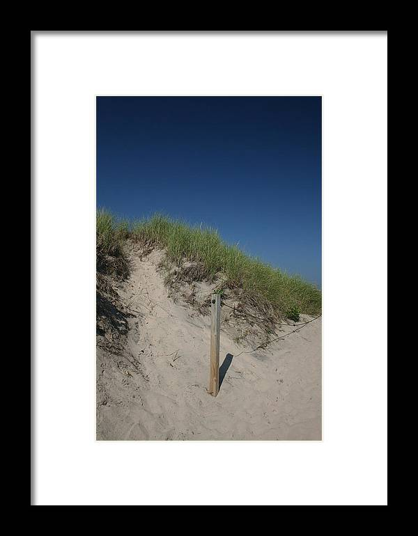 Beach Framed Print featuring the photograph Beachy Blues by Jeff Porter