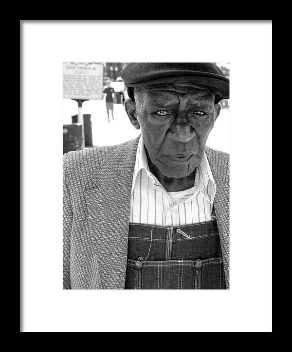 Beale Street Framed Print featuring the photograph Beale Street by Todd Fox